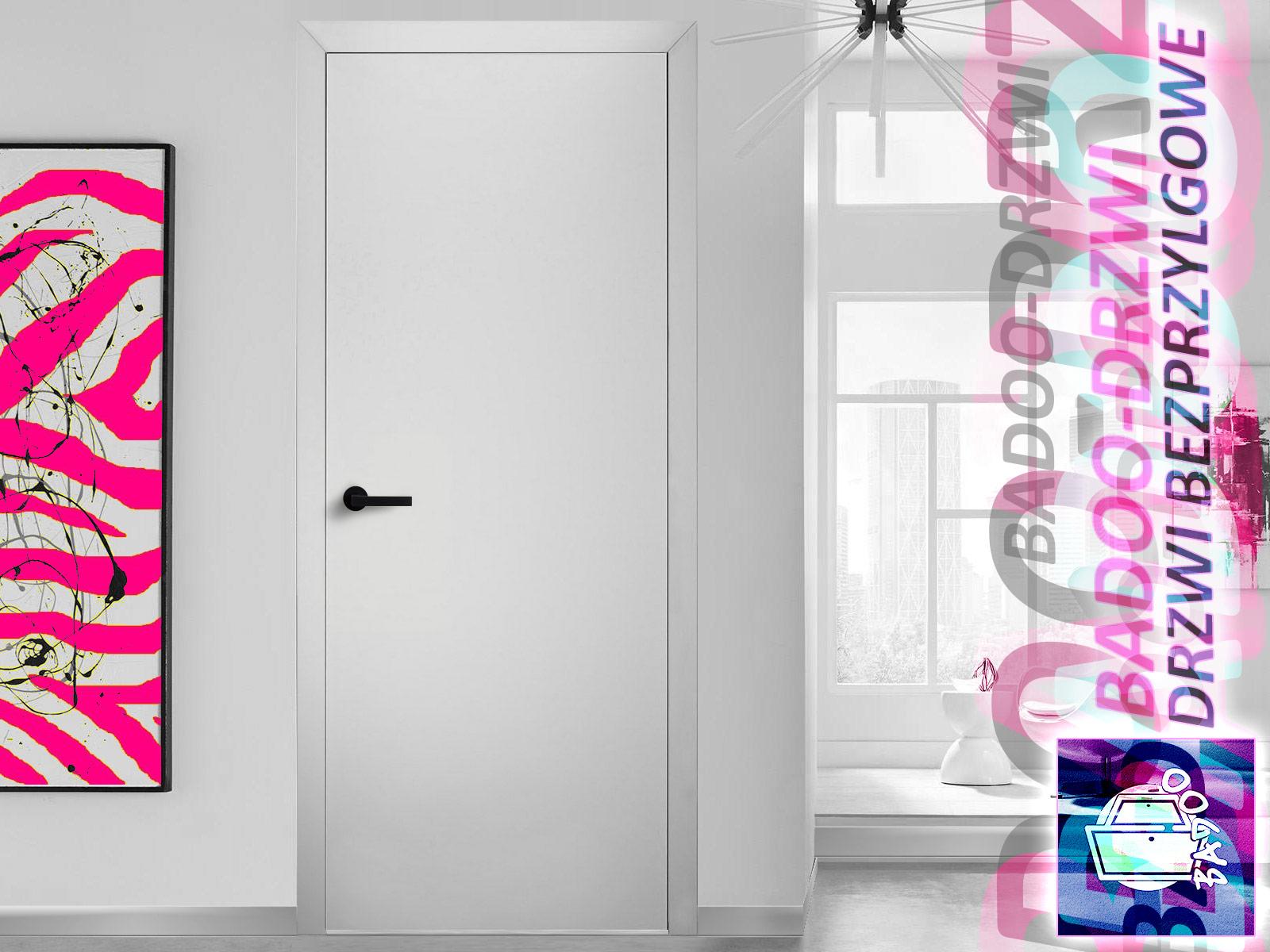 drzwi do nowoczesnych dizajnerskich wnętrz jako drzwi pokojowe lub łazienkowe